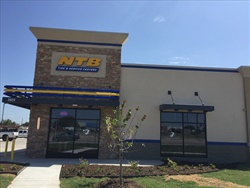 This NTB store in Wylie, Texas is northeast of Dallas.