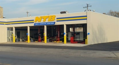 The Chicago store is equipped with seven service bays and offers customers a full array of tires and automotive services.