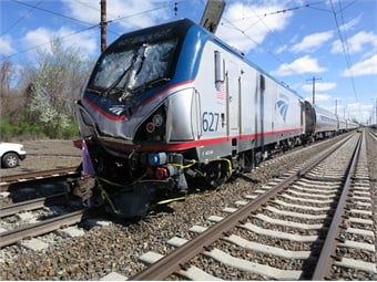 A backhoe operator and a track supervisor were killed, and 39 people were injured, when Amtrak train 89, traveling on the Northeast Corridor from Philadelphia to Washington on track 3, struck a backhoe at about 7:50 a.m.