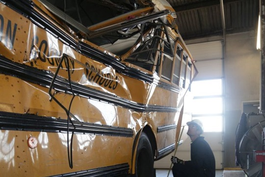 NTSB's preliminary report on the Chattanooga crash offers a few new details, including confirmation that the driver had been in two school bus crashes since the start of the school year.