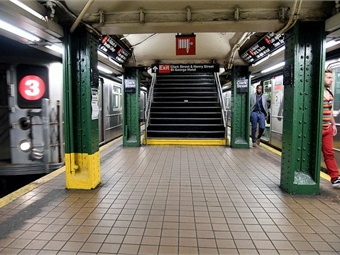 A critical part of modernizing subway signaling in a cost-efficient manner is upgrading legacy train cars with new technology.Marc A. Hermann