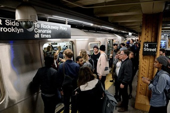 Commuting is often the single least satisfying activity out of all daily activities, according to a 2004 study. Marc A.Hermann/MTANewYorkCityTransit