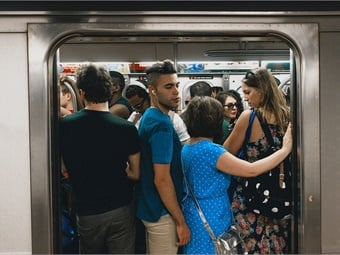 """Byford told the Daily News that the term """"overcrowding"""" is a misrepresentation and misnomer, that the MTA is in the midst of a repair blitz to fix aging equipment that causes major commuting headaches, and that the agency plans to take on the small hiccups that and slowdowns that impact service.Elliot Scott"""