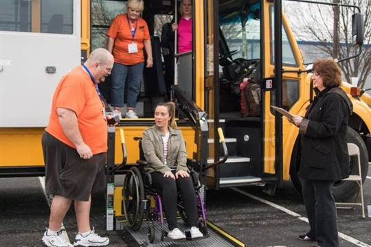 This year's National Special Needs Team Safety Roadeo was held on March 12 in Louisville, Kentucky. Photo courtesy Q'Straint
