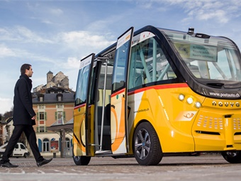 The NAVYA Autonom Shuttle will operate in mixed traffic; this is a first step toward integrating autonomous shuttles into shared transportation solutions, in addition to complement the existing transport offer. NAVYA
