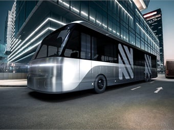 Neuron EV's electric bus features a modular design.