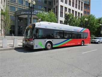 New Flyer has delivered nearly 1,400 buses to WMATA since 2001, including electric hybrids, zero-emission battery-electric, and low-emission CNGs.New Flyer