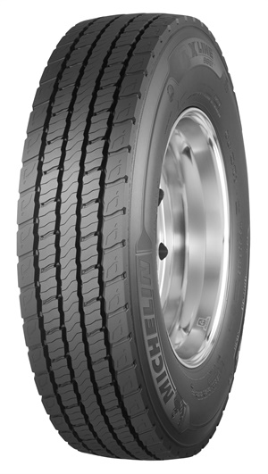 The new Michelin X Line Energy D+ is available throughout the United States and Canada in size 275/80R22.
