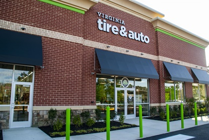 Virginia Tire & Auto LLC's new location in Herndon, Va., is its 16th store.