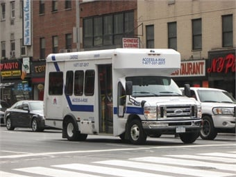 New York City's Access-A-Ride paratransit service. Photo: AEMoreira042281