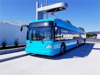 The purchase of the charging technology and Minnesota-built buses is supported by a $1.75 million grant from the Federal Transit Administration.New Flyer