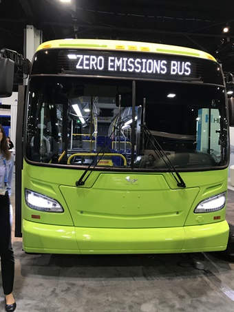 The Xcelsior CHARGE™ builds on the industry leading Xcelsior transit bus platform, with extended range battery technology made in America, electric motors with efficient regenerative energy recovery, the highest torque available for steep grade cities such as San Francisco and Seattle, and charging infrastructure compliant with industry standards.