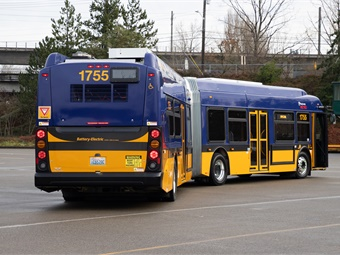 In 2017, Executive Constantine and Metro GM Rob Gannon called on the industry to invest more in battery-electric options, including the creation of coaches that could travel farther and handle the varying terrain requirements of the region.New Flyer/King County Metro