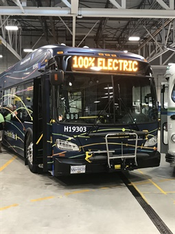 The pilot, which includes chargers from ABB and Siemens Canada, will evaluate bus performance, maintenance, and customer experience. New Flyer