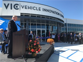 """The VIC is a dynamic, interactive, and progressive place where we can learn, share and work together to drive American public transportation innovation,"" said Paul Soubry, CEO, NFI Group. Photo: METRO Magazine"