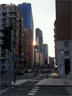 New office district in central Milan