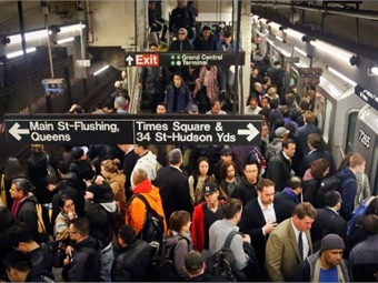 Ultra-wideband tech. could lead to better tracking of trains and buses, and potentially eliminate the need for turnstiles, tickets or cards. Photo: University at Albany