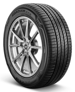The Nexen Roadian GTX is available in more than 34 sizes covering more than 90% of the most popular CUV/SUV OEM tire sizes in the market today.