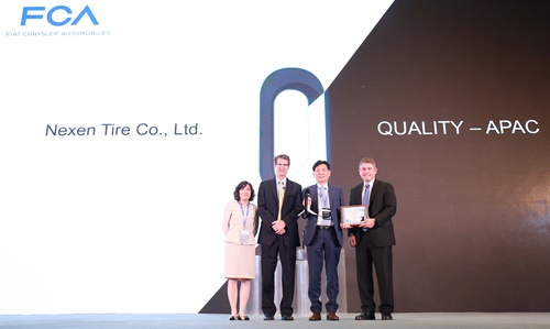 Nexen Tire was the only company from the tire industry to be awarded in the Quality-APAC Export sector.