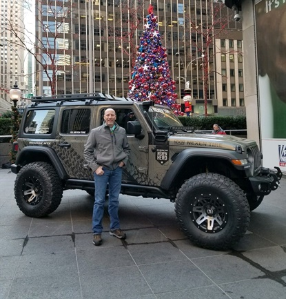 Retired Army Sgt. 1st Class Ken Cates was chosen the winner of Nexen's third Nexen Hero campaign, taking home a custom 2019 Jeep Wrangler with 37-inch Nexen Roadian MTX tires.