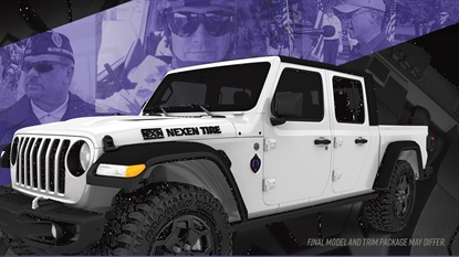 Nominations for the Nexen Hero Campaign will be accepted through July 24, and on Aug. 7 Nexen and the Purple Heart Foundation will award a 2020 Jeep Gladiator Sport S to the winning Purple Heart veteran.