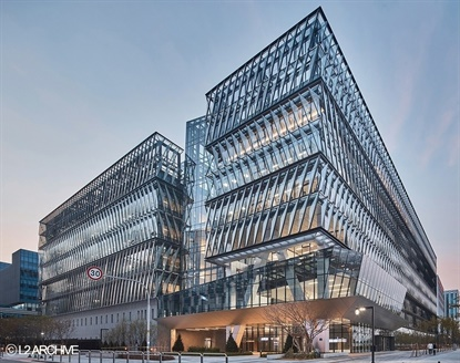 More than 300 people attended the grand opening of Nexen's UniverCity at the Magok Industrial Complex in Seoul. It will serve as the company's hub for R&D work.