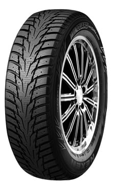 Nexen says Winguard Winspike WH62 tires are molded to allow for stud installation that provides better traction on ice and snow.