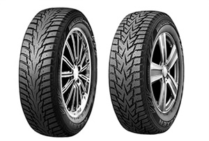 Nexen says the 20 size additions to the redesigned WinGuard WinSpike WH62 (left) and the WinGuard WinSpike WS62 create more opportunities than ever for dealers to find fitments for various vehicles.