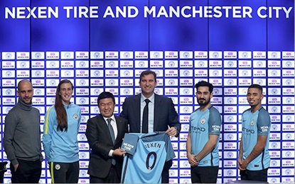Nexen's updated sponsorship of Manchester City now includes the double-winning Manchester City Women's Team.