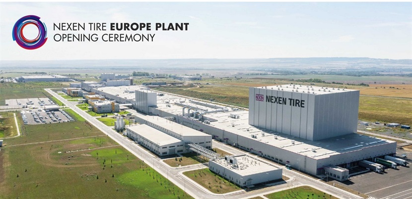 """The new Nexen plant n the Czech Republic began operations in April 2019 and is a highly digitized and connected production facility known as a """"Smart Factory."""""""