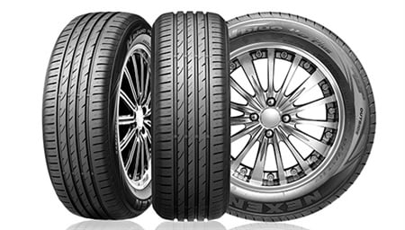 Nexen says it will contineu to strengthen its brand awareness in the European market by expanding its OE tire supply. The N'blue HD Plus tire is pictured.