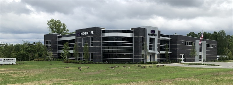 Employees at Nexen's new 33,540-square-foot tire technical center in Ohio design OE and replacement tires for the North American market. There are currently 18 employees, and the facility has room to employ up to 40 people.