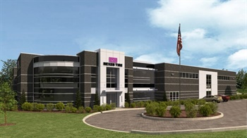 This artist's rendering shows Nexen's new North American Technical Center near Akron, Ohio. The company will break ground for the facility on Oct. 17.