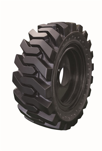 Nighthawk says the non-directional R4 tire for skid steers provides a firm grip while in drive, and in reverse.
