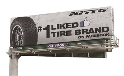 Nitto's success with MLB team sponsorships led to its billboard campaign.