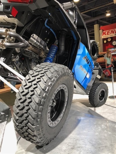 The new Trail Grappler SxS is Nitto's first tire for side-by-side vehicles.