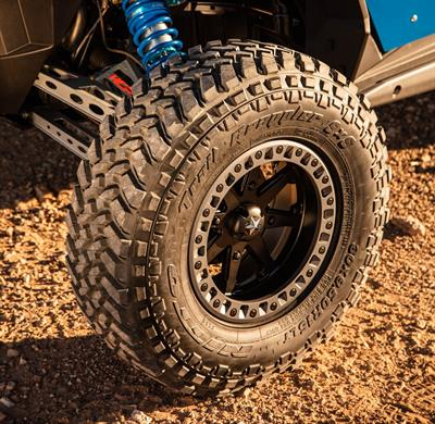 The Nitto Trail Grappler SXS is Nitto's first powersports tire and is designed to handle the demands of performance side-by-side vehicles.