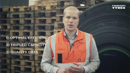 Matti Kaunisto from Nokian highlights the three major advantages of the new R&D center.