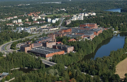 Nokian has approximately 4,400 employees, including those who work in this Nokia, Finland plant.