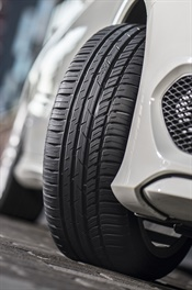 Nokian says the zLine A/S is tailored for high speeds and demanding use, especially for varying summer weather in North America. It immediately responds to steering and maintains a perfect feel for the road under all conditions.