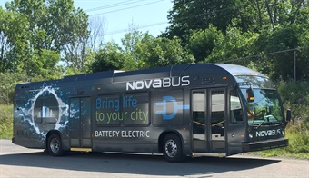 Nova Bus announce a new order for two fully electric Nova Bus LFSe vehicles from the city of Brampton, Ontario.Nova Bus