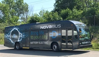 Nova Bus announce a new order for two fully electric Nova Bus LFSe vehicles from the city of Brampton, Ontario.