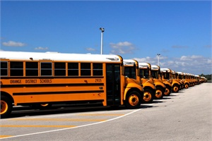 Orange County Public Schools' operations division has received the Governor's Sterling Award, which recognizes performance excellence. The district's transportation department has sustained bus on-time arrival at 98% or better and reduced the transportation cost per student.