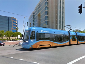 The project is a 4.1-mile streetcar line connecting riders to major activity centers and other transportation services in downtown Santa Ana.