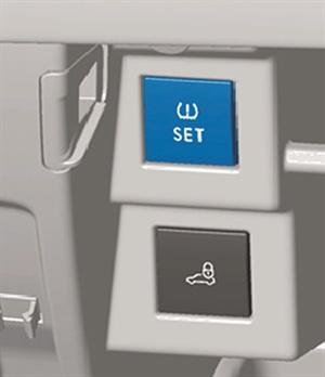 Figure 1: Identifying the TPMS set switch.