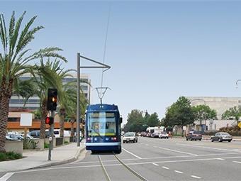 OC Streetcar rendering.
