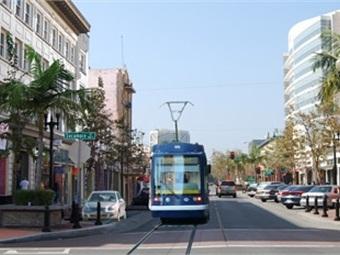 OC Streetcar renderings courtesy OCTA