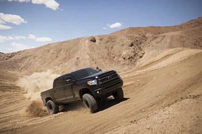 """The Toyo Open Country R/T """"is inspired by the… Open Country M/T, while its quieter ride is a nod to our Open Country A/T II,"""" says Toyo's Chris Gomez."""