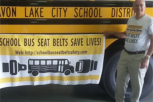 Rudolph Breglia, a citizen advocate with the School Bus Safety Alliance (shown right), wrote a response to readers on seat belts being dangerous in the event of a fire.
