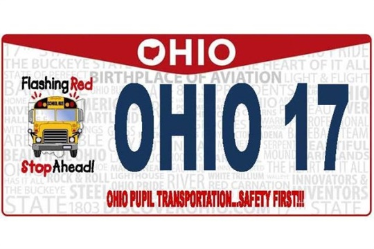 New Ohio License Plate Promotes School Bus Safety Safety